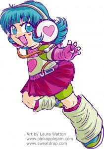 Manga Jiman 2009 Mascot: Sorano-chan