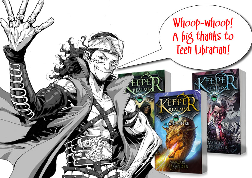 Teen Librarian Keeper of the Realm Images BIG THANKS